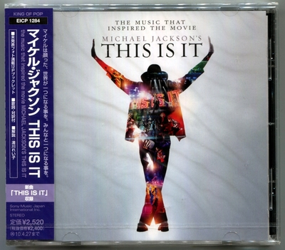 MICHAEL JACKSON-2009-THIS IS IT- 日本单碟版