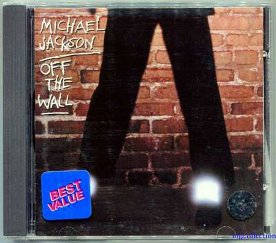 MICHAEL JACKSON-OFF THE WALL-美国SONY-中图进口版