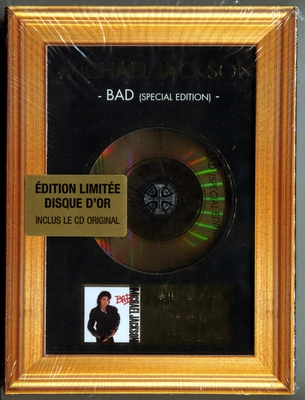 MICHAEL JACKSON-BAD SPECIAL EDITION-2007-法国金碟特别版