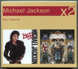 MICHAEL JACKSON-2004-X2-BAD/DANGEROUS-澳大利亚版双CD
