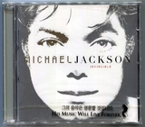 MICHAEL JACKSON-INVINCIBLE-韩国2009再版