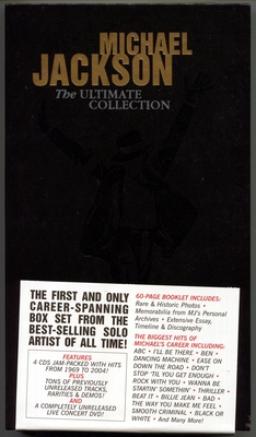 MICHAEL JACKSON-2004-THE ULTIMATE COLLECTION-奥地利版套装4CD+1DVD