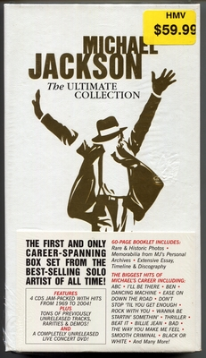 MICHAEL JACKSON-2004-THE ULTIMATE COLLECTION-加拿大输入版