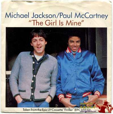 1982-MICHAEL JACKSON&PAUL MCCARTNEY-THE GIRL IS MINE-英国版7寸单曲唱片2