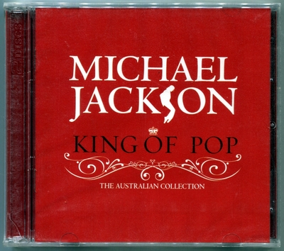 MICHAEL JACKSON-2008-KING OF POP-THE AUSTRALIAN COLLECTION-33曲精选CD-澳大利亚2CD版