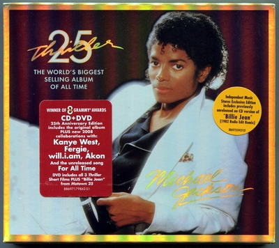 MICHAEL JACKSON-THRILLER 25TH-美国INDEPENDEDT MUSIC STORES特店特售版