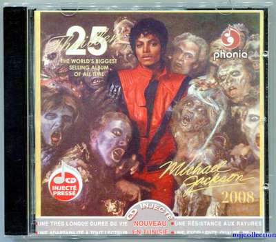 MICHAEL JACKSON-THRILLER 25TH-突尼斯版