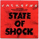 1984-THE JACKSONS-STATE OF SHOCK-荷兰版7寸单曲唱片