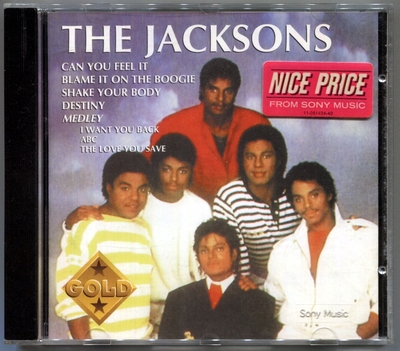 THE JACKSONS-1994-GOLD-法国版