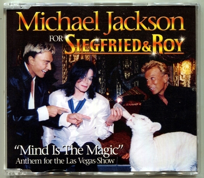 2010-MICHAEL JACKSON-MIND IS THE MAGIC-4 TRACKS-GERMANY CDSINGLE-德国版
