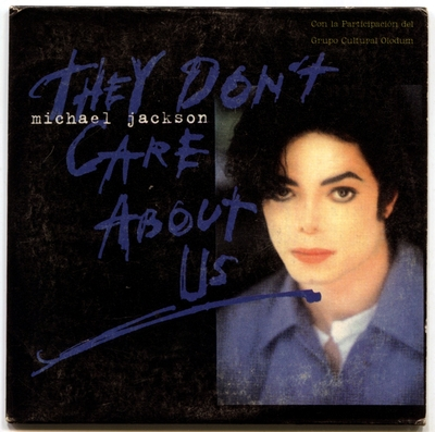 1996-MICHAEL JACKSON-THEY DON'T CARE ABOUT US-2 TRACKS-MEXICO CARDBOARD PROMO CDSINGLE-墨西哥宣传卡版
