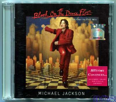 MICHAEL JACKSON-BLOOD ON THE DANCE FLOOR-HISTORY IN THE MIX-马来西亚13曲版-全新不拆