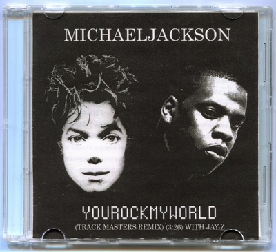 2001-MICHAEL JACKSON-YOU ROCK MY WORLD(TRACK MASTERS REMIX) WITH JAY-Z-1 TRACK-JAPAN PROMO CDSINGLE