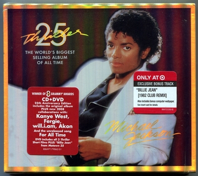 MICHAEL JACKSON-THRILLER 25TH-美国TAGET特店特售版