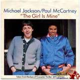 1982-MICHAEL JACKSON&PAUL MCCARTNEY-THE GIRL IS MINE-英国版7寸单曲唱片1