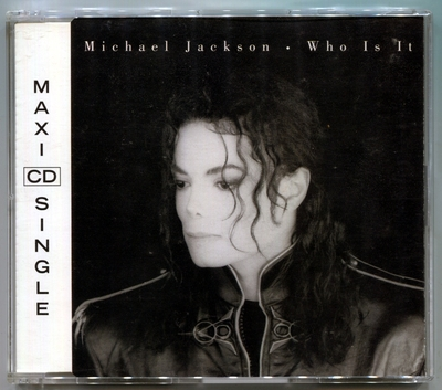 1992-MICHAEL JACKSON-WHO IS IT-MAXI CDSINGLE-5 TRACKS-AUSTRIA CDSINGLE-奥地利版