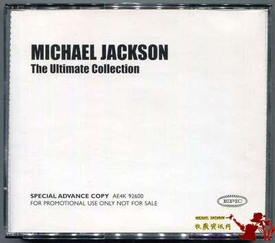 MICHAEL JACKSON-2004-THE ULTIMATE COLLECTION-美国宣传套装4CD+1DVD