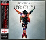 MICHAEL JACKSON-2009-THIS IS IT- 日本首发限定版