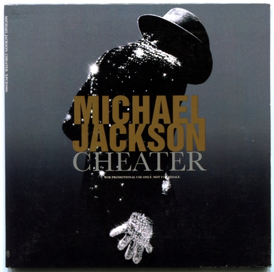 2004-MICHAEL JACKSON-CHEATER-1 TRACK-UK CARDBOARD PROMO CDSINGLE-英国宣传卡版