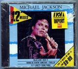 "1988-MICHAEL JACKSON-THE 12""MIXES-5 TRACKS-AUSTRALIA CDSINGLE-澳大利亚版(全新未拆)"