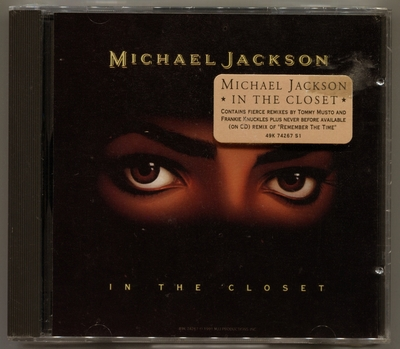 1991-MICHAEL JACKSON-IN THE CLOSET-5 TRACKS-USA CDSINGLE-美国版-全新未拆