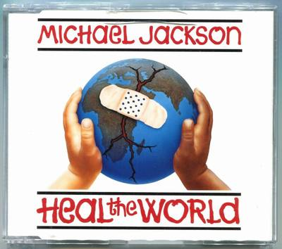 1992-MICHAEL JACKSON-HEAL THE WORLD-3 TRACKS-AUSTRALIA CDSINGLE-CD1-澳大利亚版