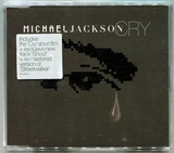 2001-MICHAEL JACKSON-CRY-4 TRACKS-UK CDSINGLE-英国版