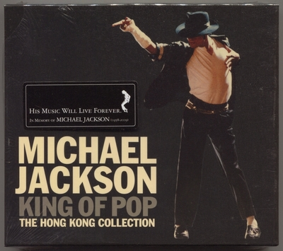 MICHAEL JACKSON-2009-KING OF POP-THE HONG KONG COLLECTION-31曲精选CD-香港2CD版