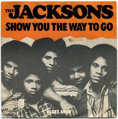 1976-THE JACKSONS-SHOW YOU THE WAY TO GO-荷兰版7寸单曲唱片