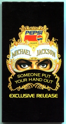 1992-MICHAEL JACKSON-SOMEONE PUT YOUR HAND OUT-2 TRACKS-JAPAN 3INCH PROMO CDSINGLE-日本再版