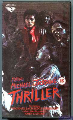 1990-MICHAEL JACKSON-MAKING MICHAEL JACKSON'S THRILLER-荷兰版