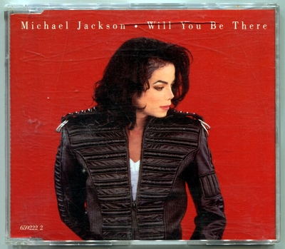 1993-MICHAEL JACKSON-WILL YOU BE THERE-5 TRACKS-AUSTRALIA CDSINGLE-澳大利亚版