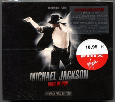 MICHAEL JACKSON-2008-KING OF POP-THE FRENCH FANS' SELECTION-47曲精选CD-法国3CD版