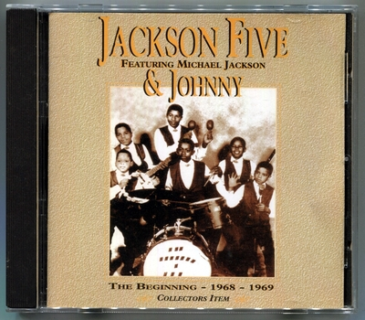 THE JACKSON 5-FEATURING MICHAEL JACKSON & JOHNNY-THE BEGINNING-1368!1969-英国版