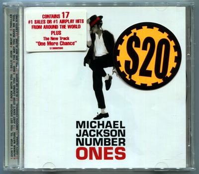 MICHAEL JACKSON-2003-NUMBER ONES-澳大利亚首版CD4