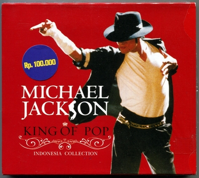 MICHAEL JACKSON-2008-KING OF POP-34曲精选CD-印度尼西亚2CD版