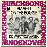 1978-THE JACKSONS-BLAME IT ON THE BOOGIE-荷兰版7寸单曲唱片1