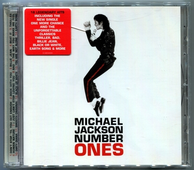 MICHAEL JACKSON-2003-NUMBER ONES-英国首版CD3