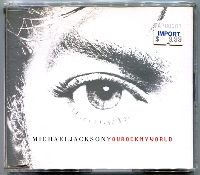 2001-MICHAEL JACKSON-YOU ROCK MY WORLD-5 TRACKS-AUSTRALIA CDSINGLE-澳大利亚版