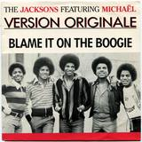1978-THE JACKSONS-BLAME IT ON THE BOOGIE-荷兰版7寸单曲唱片2