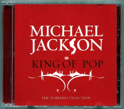 MICHAEL JACKSON-2008-KING OF POP-18曲精选CD-土耳其版
