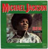 1972-MICHAEL JACKSON-BEN&I WANNA BE WHERE YOU ARE-荷兰版7寸单曲唱片