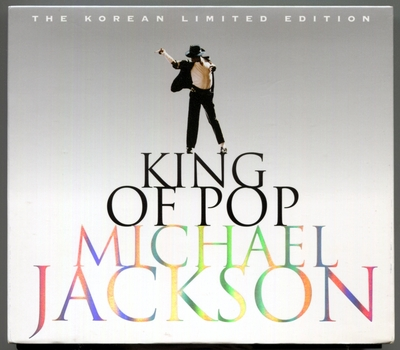 MICHAEL JACKSON-2008-KING OF POP-THE KOREA LIMITED EDITION-35曲精选CD-韩国2CD限定版