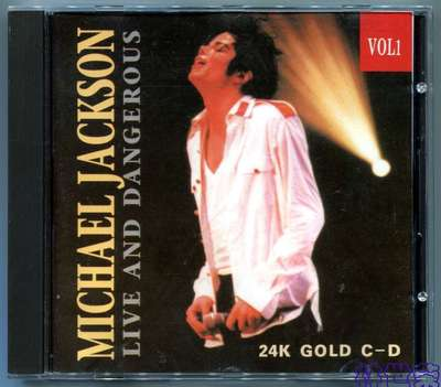 MICHAEL JACKSON-DANGEROUS TOUR-LIVE AND DANGEORUS VOL1-意大利版CD1