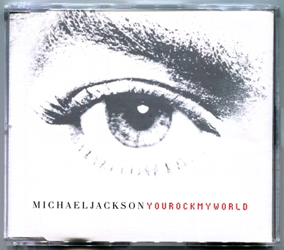 2001-MICHAEL JACKSON-YOU ROCK MY WORLD-4 TRACKS-UK CDSINGLE-英国版