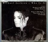 1992-MICHAEL JACKSON-WHO IS IT-3 TRACKS-AUSTRIA CDSINGLE-奥地利版