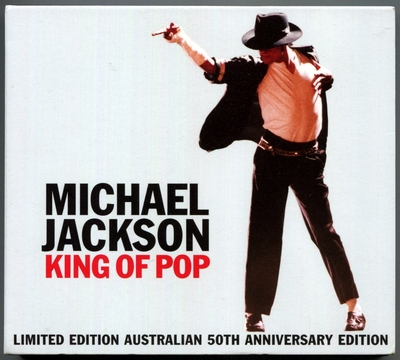 MICHAEL JACKSON-2008-KING OF POP-LIMITED EDITION AUSTRALIAN 50TH ANNIVERSARY EDITION-32曲精选CD-澳大利亚限定版