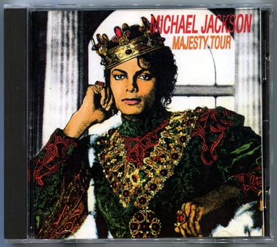 MICHAEL JACKSON-DANGEROUS TOUR-MAJESTY TOUR-意大利版