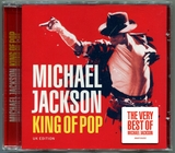 MICHAEL JACKSON-2008-KING OF POP-17曲精选CD-英国版