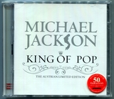 MICHAEL JACKSON-2008-KING OF POP-THE AUSTRALIAN LIMITED EDITION-32曲精选CD-澳大利亚2CD限定版